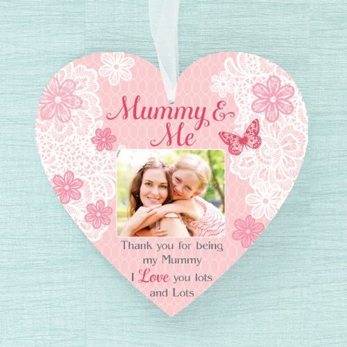 Personalised  Heart - Mummy & Me